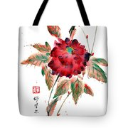 Peony's Declining Grace Tote Bag