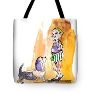 People And Their Dogs 01 Tote Bag