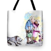 People And Their Dogs 02 Tote Bag