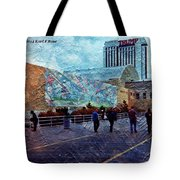 People As A Painting Tote Bag