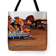 People At County Fair Tote Bag