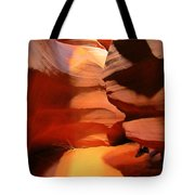 People Coming Around The Corner Tote Bag