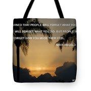 People Feel Tote Bag