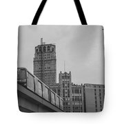 People Mover Downtown Detroit Tote Bag