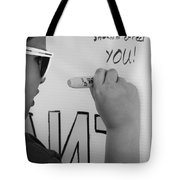 Peoples Opinions Tote Bag