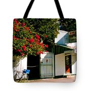 Pepes In Key West Florida Tote Bag by Susanne Van Hulst