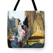 Pepper At Smith Rock Tote Bag