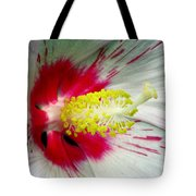 Peppermint Flame 01a Tote Bag