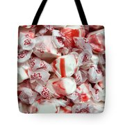 Peppermint Taffy Tote Bag