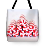 Peppermint Twist - Candy Canes Tote Bag