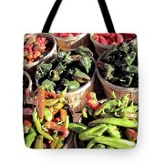 Peppers By The Bushel Tote Bag