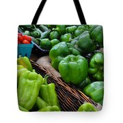 Peppers From The Farm Nj Tote Bag