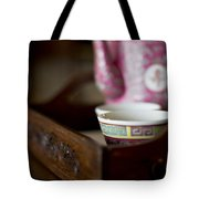 Peranakan Tea Set Tote Bag