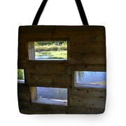 Perch Pond Blind Tote Bag