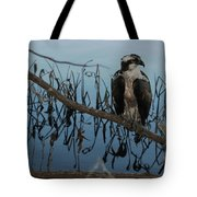 Perched Tote Bag by April Wietrecki Green