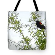 Perched In A Tree Tote Bag