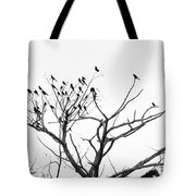 Perched Majestically Tote Bag