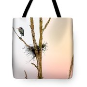 Perched Up High Tote Bag