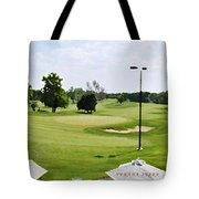 Perfect Day For Golf Tote Bag