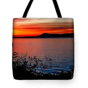 Perfect Marine Sunset Tote Bag