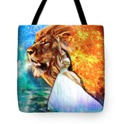 Perfect Peace In Perfect Love Tote Bag by Dolores Develde