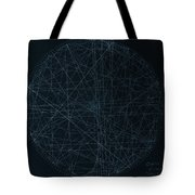 Perfect Square Tote Bag by Jason Padgett