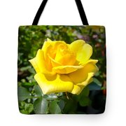 Perfect Yellow Rose Tote Bag