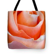 Perfection In A Peach Rose Tote Bag