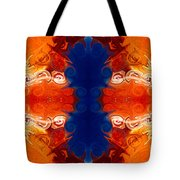 Perfectly Balanced Philosophies Abstract Pattern Art By Omaste Witkowski Tote Bag