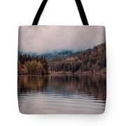 Perfectly Cloudy Lake Tote Bag