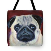 Perfectly Pug Tote Bag