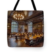 Periodical Room At The New York Public Library Tote Bag