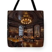 Periodicals Room New York Public Library Tote Bag