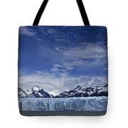 Perito Moreno Glacier And The Andes Tote Bag