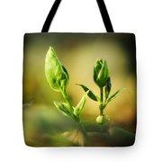 Periwinkle Awakening Tote Bag