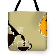 Perk Up With A Cup Of Coffee 12 Tote Bag