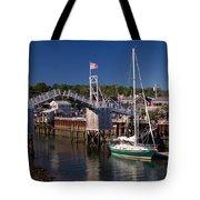Perkins Cove Ogunquit Maine Tote Bag