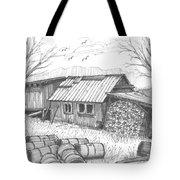 Perkins Maple Sugar House Tote Bag