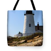 Permaquid Point Lighthouse Tote Bag