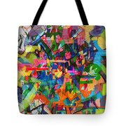 Perpetual Encounter With Providence 4 Tote Bag