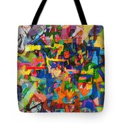 Perpetual Encounter With Providence 7a Tote Bag