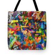 Perpetual Encounter With Providence 7b Tote Bag