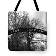 Perry Cemetery Tote Bag