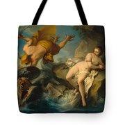 Perseus And Andromeda Tote Bag