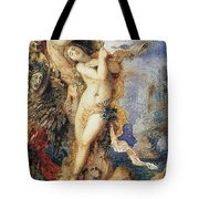 Perseus And Andromeda Tote Bag by Gustave Moreau