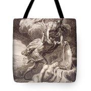 Perseus Cuts Off Medusa's Head Tote Bag by Bernard Picart