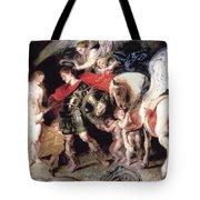 Perseus Liberating Andromeda Tote Bag