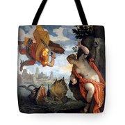 Perseus Rescuing Andromeda Tote Bag
