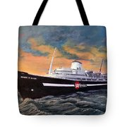 Perseverance On The Bay Tote Bag