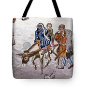 persian lady on horse with her baby              Close up photos by myself of Persian antique carpet Tote Bag